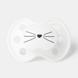 Chupete Pacificador de la barba del gato del bebé