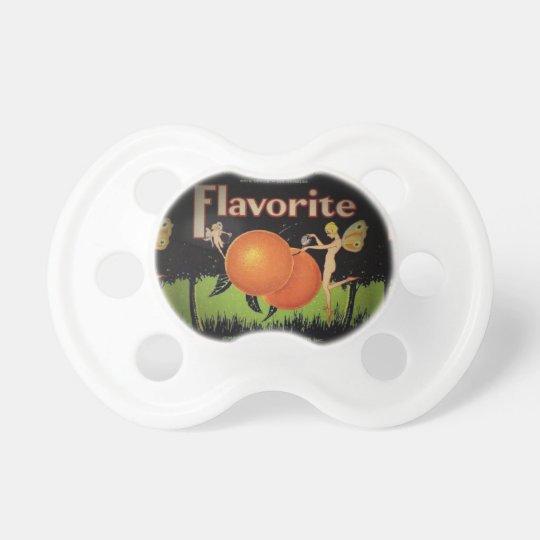 Chupete Pacificador de la etiqueta del embalaje de la
