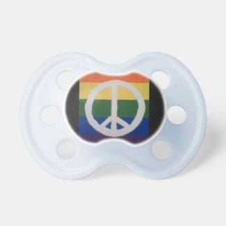 Chupete Pacificador de la paz del arco iris