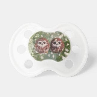 Chupete Pacificador del bebé con dos Owelets