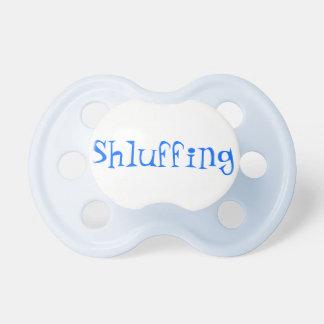 Chupete Pacificador del bebé de Shluffing
