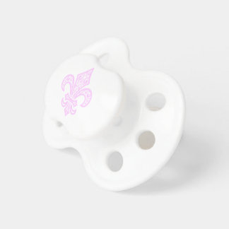 Chupete Pacificador del bebé del bébé™ de la flor de lis