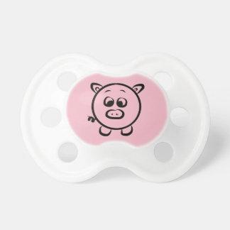 Chupete Pacificador del bebé del cerdo