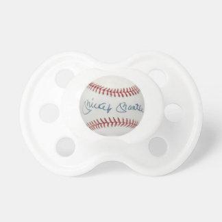 Chupete Pacificador del béisbol de la capa de Mickey