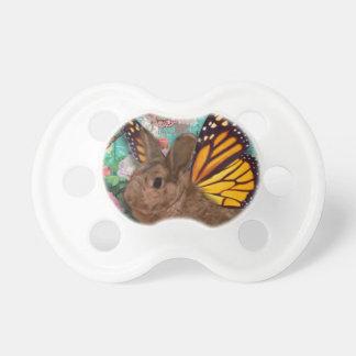 Chupete Pacificador del conejito de la mariposa