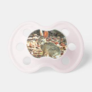 Chupete Pacificador del conejito del bebé