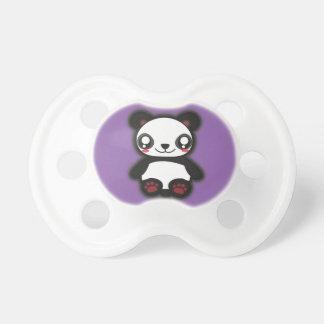 Chupete Pacificador divertido de la panda de Kawaii
