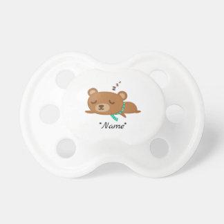 Chupete Pacificador durmiente lindo de BooginHead® del oso
