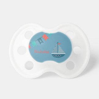 Chupete Pacificador personalizado ancla del barco del