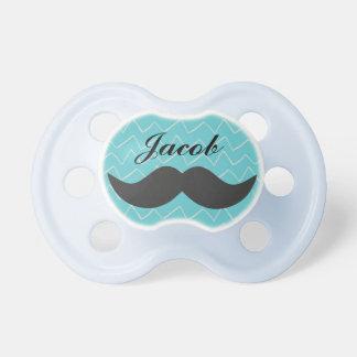 Chupete Pacificador personalizado del bebé del bigote