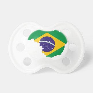 Chupete País del brasilen@o del símbolo del mapa de la