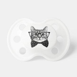 Chupete pajarita del gato - gato de los vidrios - gato de