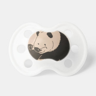 Chupete Panda fresca con las sombras