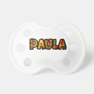 Chupete Paula
