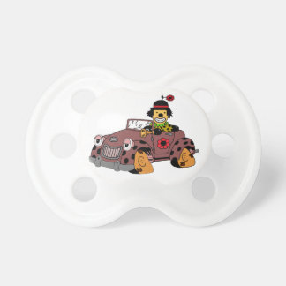 Chupete Payaso en coche