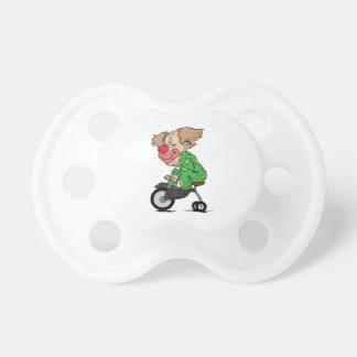 Chupete Payaso en el triciclo