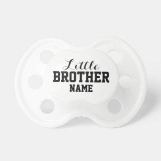 Chupete Pequeño Brother 0-6 meses de pacificador de