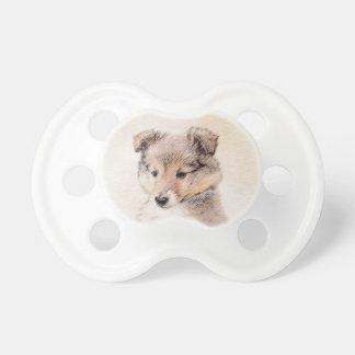 Chupete Perrito del perro pastor de Shetland