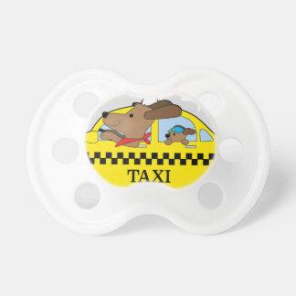 Chupete Perro del taxi de Nueva York