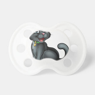 Chupete Personaje de dibujos animados del gato negro