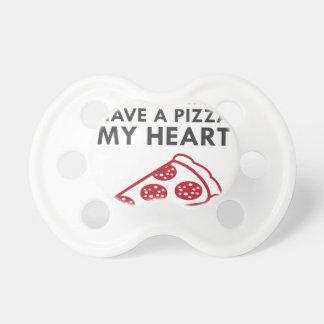 Chupete Pizza mi corazón