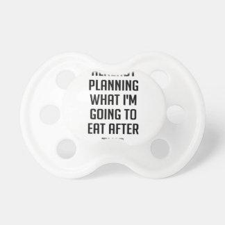 Chupete Planificación qué comer