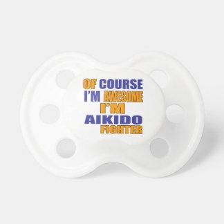 Chupete Por supuesto soy combatiente del Aikido