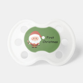 Chupete Primer navidad simulado