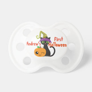 Chupete Primer pacificador personalizado de Halloween
