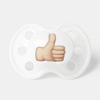 Chupete Pulgares para arriba - Emoji