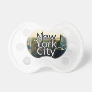 Chupete Recuerdo de New York City