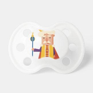 Chupete Rey personaje de dibujos animados