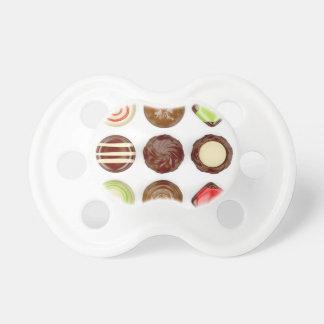 Chupete Selección de caramelos de chocolate