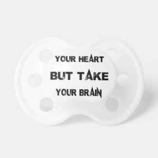 Chupete siga su corazón toman su cerebro con usted