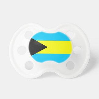 Chupete Símbolo de la bandera de país de Bahamas de largo