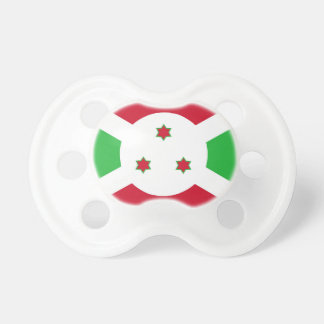 Chupete Símbolo de la bandera de país de Burundi de largo