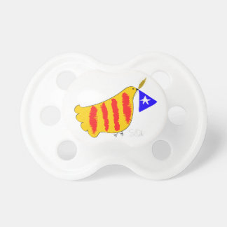 Chupete Símbolo patriótico, paloma de la libertad de