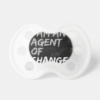 Chupete Soy un agente del cambio