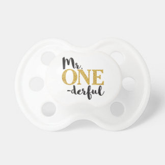 Chupete Sr. ONEderful Pacifier • 6+ meses de BooginHead®