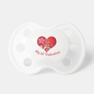 Chupete Tarjeta del día de San Valentín de Lil'