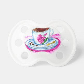 Chupete Taza de arte del café