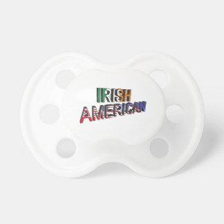 Chupete Texto Irlandés-Americano para el