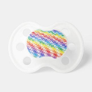 Chupete Un arco iris rítmico