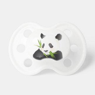 Chupete Un oso de panda