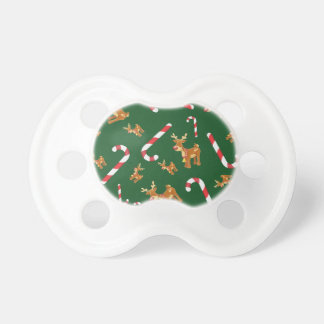 Chupete Verde lindo del modelo del bastón de caramelo de