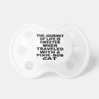 Chupete Viajado con el gato de Duendecillo-Bob