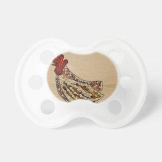 Chupete Vintage del pollo