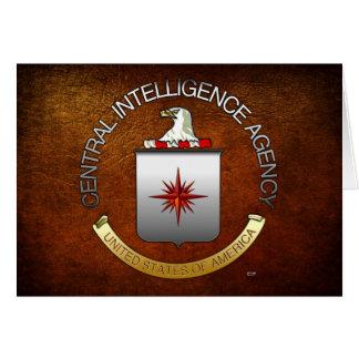 CIA (CIA) TARJETA DE FELICITACIÓN