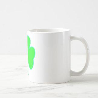 Ciánico verde del trébol los regalos de Zazzle del Taza