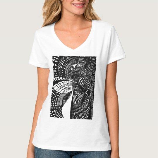 cibernética camiseta